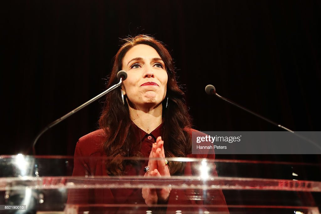Jacinda Ardern Awaits Election Results As Counting Continues : News Photo