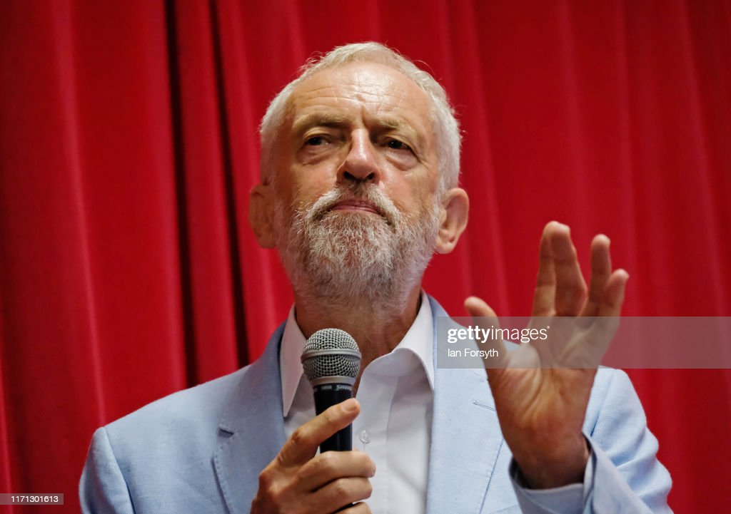 Jeremy Corbyn Holds A Campaign Rally In Glasgow : News Photo