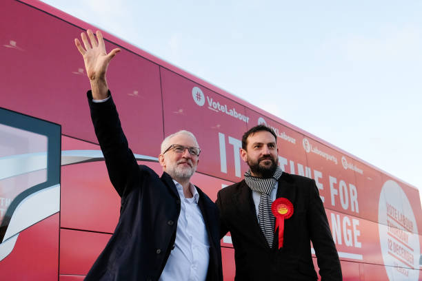 GBR: Corbyn Campaigns In Scarborough And Whitby