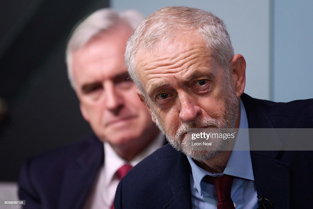 Labour Leader Jeremy Corbyn Makes Keynote Speech On The Economy
