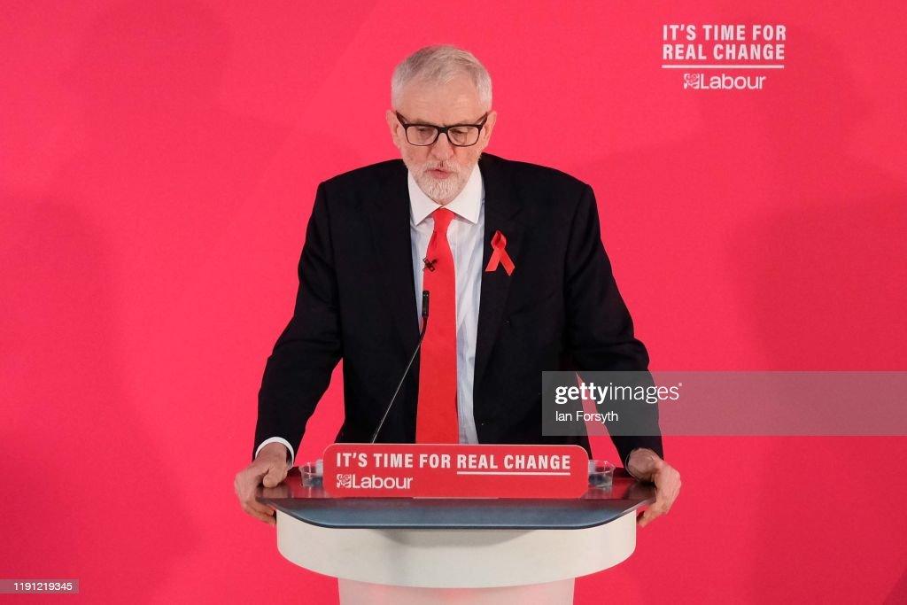 Corbyn Announces Foreign Policy In York : Fotografía de noticias