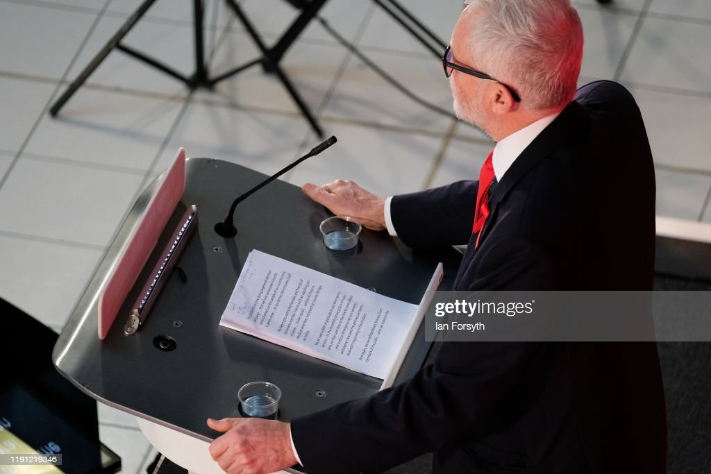Corbyn Announces Foreign Policy In York : Nyhetsfoto