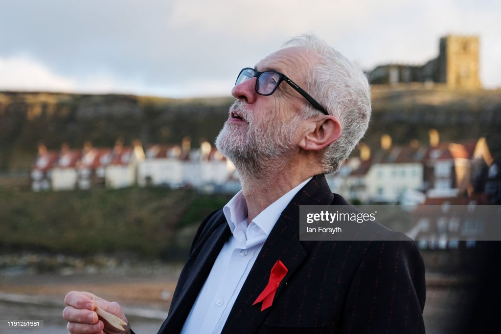 Corbyn Campaigns In Whitby : News Photo