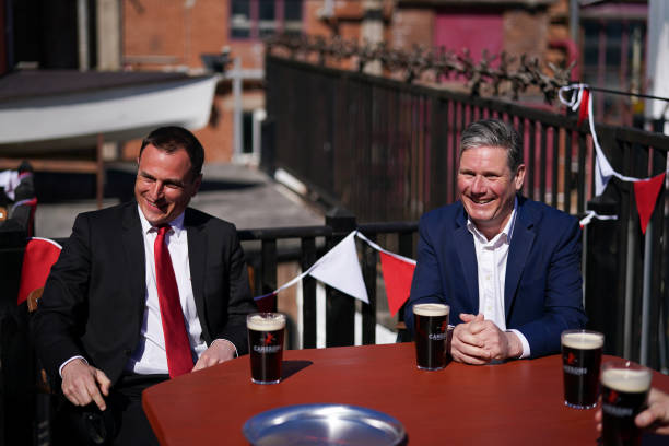 GBR: Keir Starmer Campaigns In The Hartlepool By-election