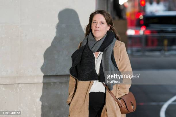 Labour Party MP Jess Phillips arrives at the BBC Broadcasting House in central London to appear on The Andrew Marr Show on 05 January 2020 in London...