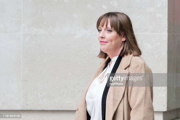 Labour Party MP Jess Phillips leaves the BBC Broadcasting House in central London after appearing on The Andrew Marr Show on 05 January 2020 in...