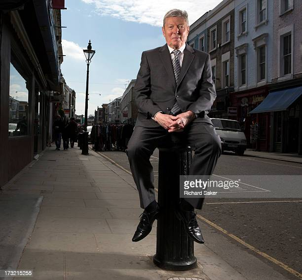 Labour party politician Alan Johnson is photographed for the Observer on April 24 2013 in London England