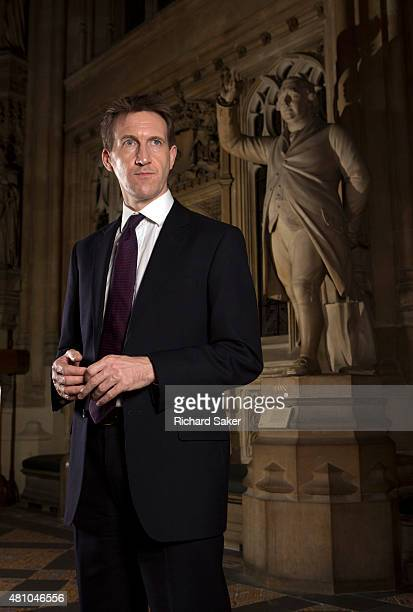 Labour party politician Dan Jarvis is photographed for the Observer on December 4 2014 in London England