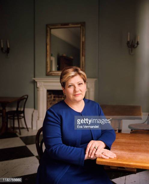 Labour party politician Emily Thornberry is photographed for the Financial Times on September 7 2018 in London England