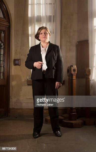 Labour Party politician Emily Thornberry is photographed for the Observer on March 5 2015 in London England