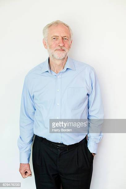 Labour party politician Jeremy Corbyn is photographed for the Guardian on August 9 2016 in London England