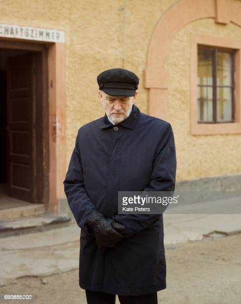 Labour Party politician Jeremy Corbyn is photographed on December 3 2016 in Prague Czech Republic