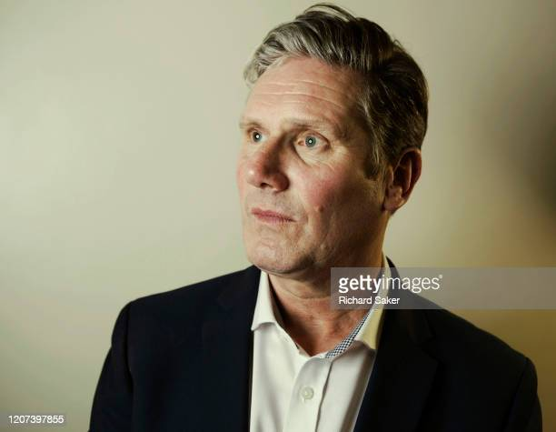 Labour Party politician Kiers Starmer is photographed for the Guardian on July 15 2019 in London England
