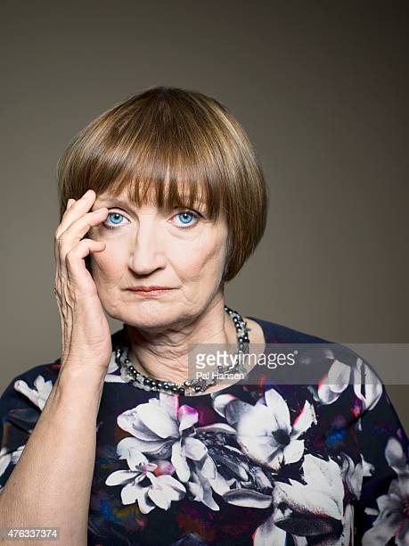 Labour party politician Tessa Jowell is photographed for ES magazine on December 16 2014 in London England