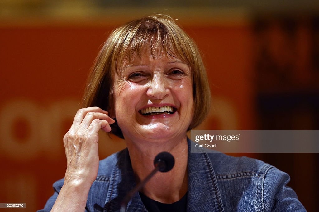 Labour Party politician Tessa Jowell speaks during a Labour party mayoral hustings on July 30, 2015 in London, England. The London Labour Party mayoral selection will decide which candidate stands in the mayoral election on 5 May 2016.