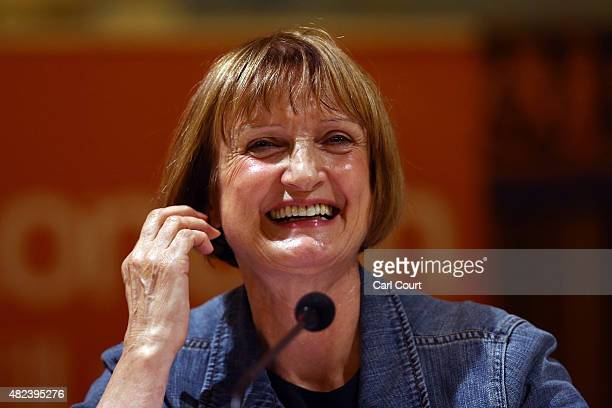Labour Party politician Tessa Jowell speaks during a Labour party mayoral hustings on July 30 2015 in London England The London Labour Party mayoral...