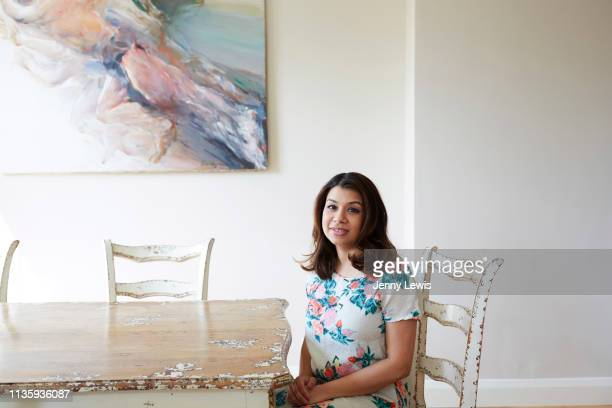 Labour Party politician Tulip Siddiq is photographed on March 25 2019 in London England