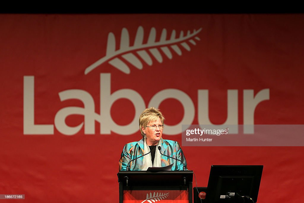 Labour Party President Moira Coatsworth opens the Labour Party National Conference on November 2, 2013 in Christchurch, New Zealand. The 97th Labour Party Annual Conference runs from 1 - 3 November 2013.