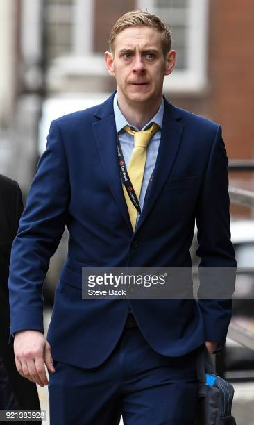Labour Party's Executive Director of Strategy and Communications Seumas Milne arrives as Jeremy Corbyn delivers at The Queen Elizabeth II Conference...