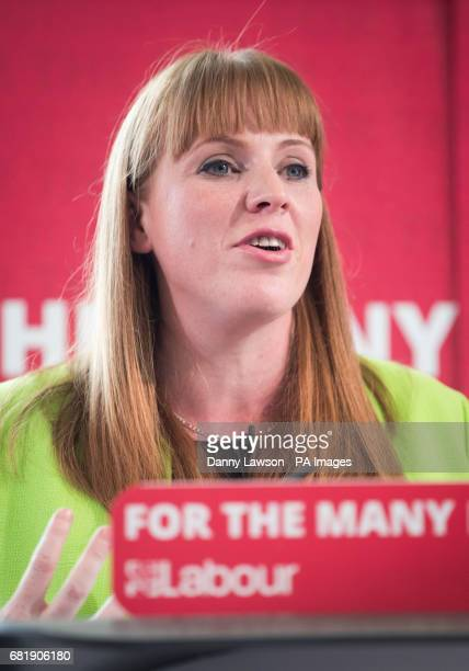 Labour's Shadow Education Secretary Angela Rayner during the launch Labour's education plans during a visit to Leeds City College