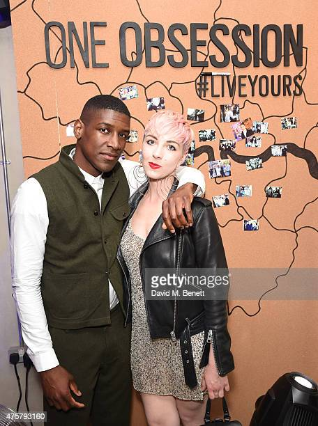 Labrinth and Femme attend the launch of OAKLEY IN RESIDENCE LONDON a popup cycling destination and hangout for creative collaboration on June 3 2015...