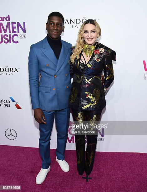 Labrinth and Madonna attend Billboard Women In Music 2016 airing December 12th On Lifetime at Pier 36 on December 9 2016 in New York City