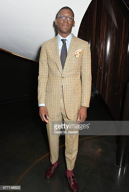 Labrinth attends a cocktail reception celebrating the Tom Ford Spring/Summer 2016 collection during London Collections Men at the Tom Ford Sloane...