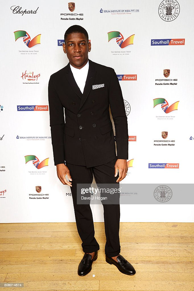 Labrinth attends a reception and dinner for supporters of The British Asian Trust at Natural History Museum on February 2, 2016 in London, England.