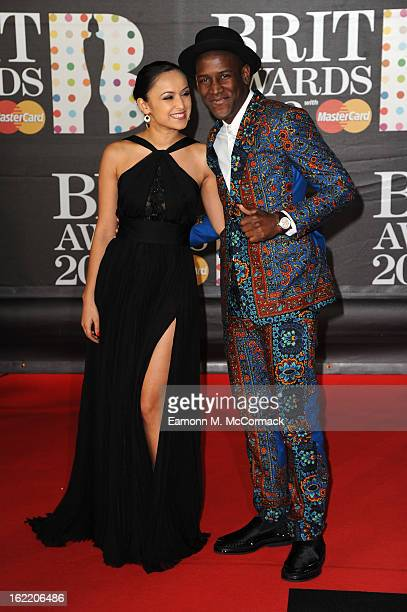 Labrinth attends the Brit Awards 2013 at the 02 Arena on February 20 2013 in London England