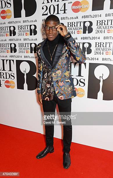 Labrinth attends The BRIT Awards 2014 at the 02 Arena on February 19 2014 in London England
