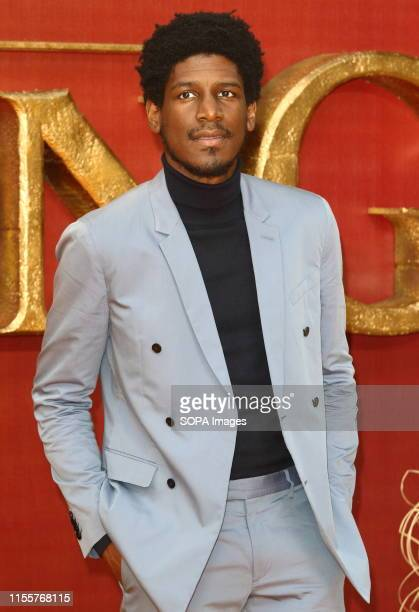 Labrinth attends the European Premiere of Disney's The Lion King at the Odeon Luxe cinema Leicester Square in London