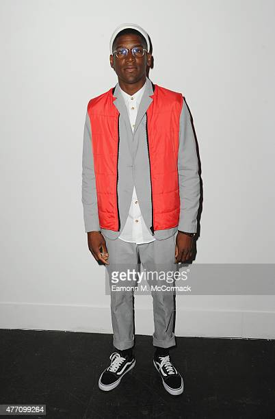 Labrinth attends the James Long show during The London Collections Men SS16 at on June 14 2015 in London England