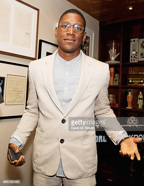 Labrinth attends the launch of Jess Glynne's new album I Cry When I Laugh in partnership with Crystal Head Vodka at Tape London on August 26 2015 in...
