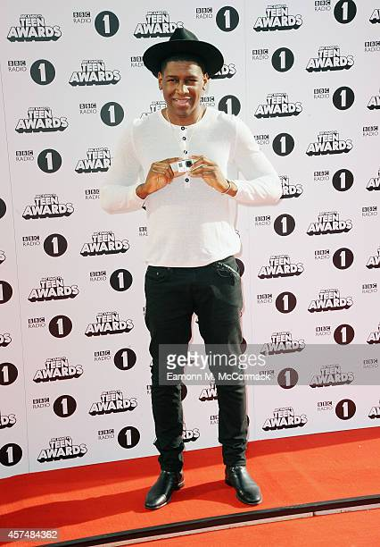 Labrinth attends the Radio One Teen Awards at Wembley Arena on October 19 2014 in London England