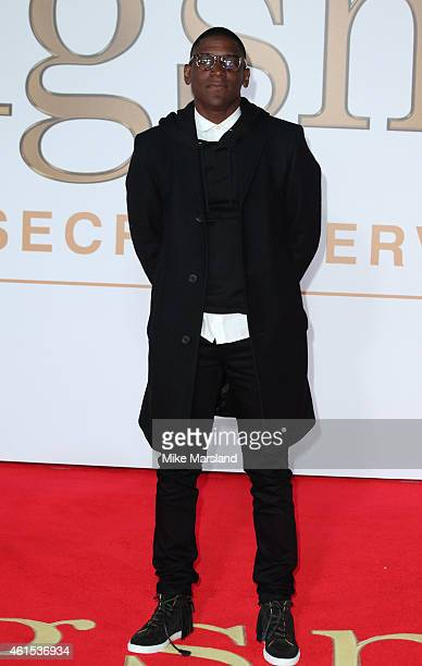 Labrinth attends the World Premiere of 'Kingsman The Secret Service' at Odeon Leicester Square on January 14 2015 in London England