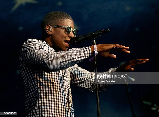 Labrinth performs on stage during Underage Festival 2011 at Victoria Park on August 5 2011 in London United Kingdom