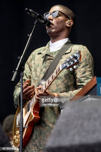 Labrinth performs on the main stage at Wireless Birmingham at on July 4 2014 in Birmingham United Kingdom