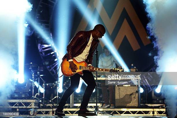 Labrinth performs onstage at the 2012 MOBO awards at Echo Arena on November 3 2012 in Liverpool England