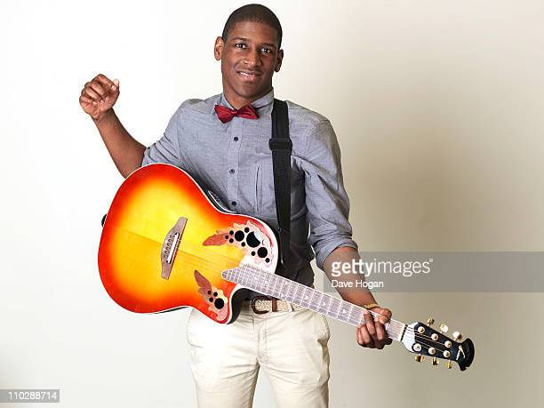 Labrinth poses for a portrait session on December 3 2010 in London England