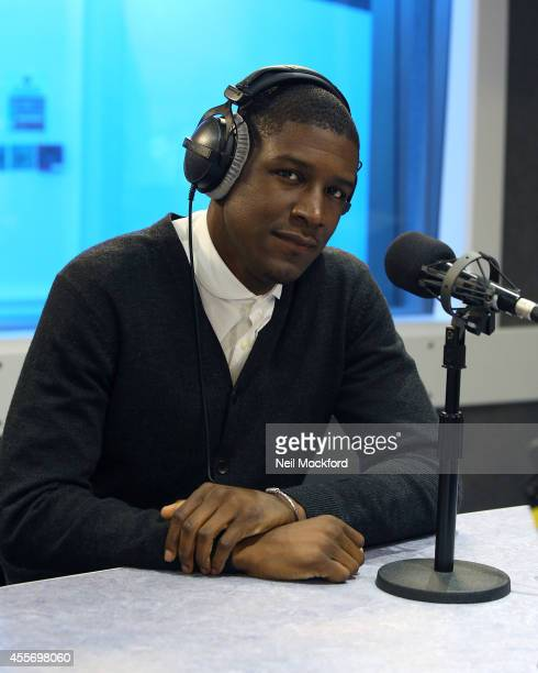 Labrinth visits Kiss FM UK Studio's on September 19 2014 in London England