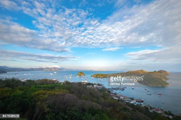 Labuan Bajo Port in Flores Island, East Nusa Tenggara, Indonesia
