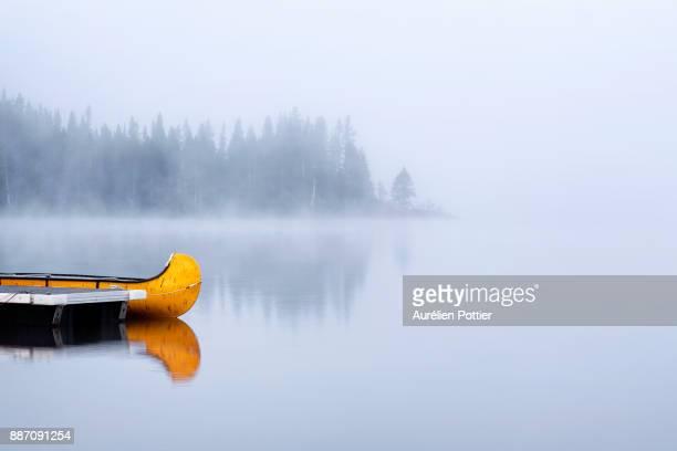 Lac Cascapédia, misty morning