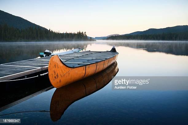 lac cascapédia - québec stock-fotos und bilder