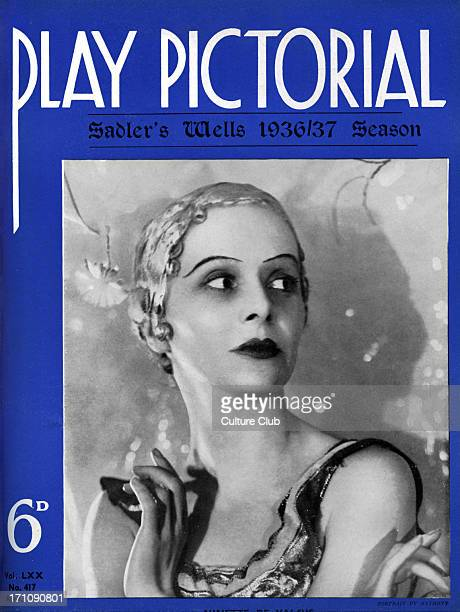 'Lac de Cygnes' by Tchaikovsky, with Mary Honer at Sadler's Wells, 1936/7. Cover of 'Play Pictorial'.