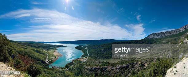 lac de sainte-croix (xxxl - gorges du verdon photos et images de collection