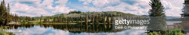 lac des roches - lake of the woods stock pictures, royalty-free photos & images