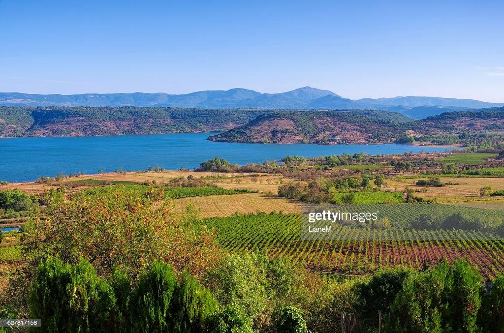 Lac du Salagou in France