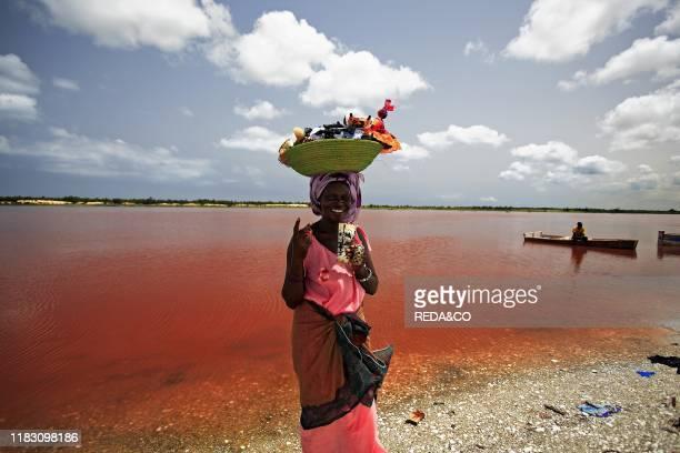 Lac Retba - Senegal - Africa.