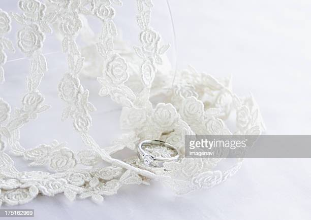 Lace and a ring