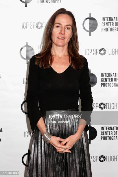 Lace Austin attends The 2017 ICP spotlights luncheon honoring Pulitzer PrizeWinning photojournalist Lynsey Addario on November 7 2017 in New York City